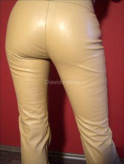 Miss Sixty Lederhose Roxy Leder Jeans Hose Bootcut Neu