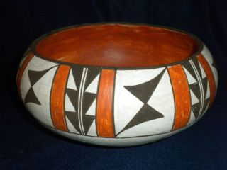 Acoma Pueblo Indian Pottery Artist D H Sanchez