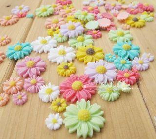 Hot New Classic Chrysanthemum Flowers DIY Phone Case Cover Deco Kits