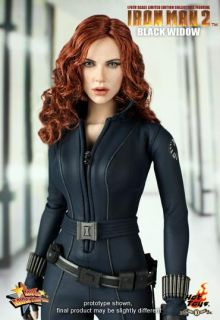 Hot Toys Ironman 2 Black Widow Scarlett Johansson The Avengers 1 6 New