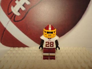 Lego DARRELL GREEN Custom Minifig Football Washington Redskins NFL 28
