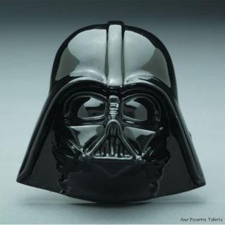 Licensed Star Wars Darth Vader Head Dark Side Belt Buckle