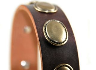 promotions general interest dean tyler leather dog collar retro rulz