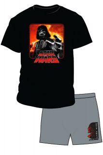 Uomo Maglietta E Shorts Uomo Ufficiale Star Wars Darth Vader