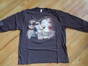 Debbie Harry Official T shirt long sleeve L Necessary Evil Tour