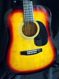 Dave Matthews Band Signed Guitar