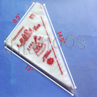 Disposable Pastry Bag Icing Piping Cake Cupcake Decorating Bag Supply