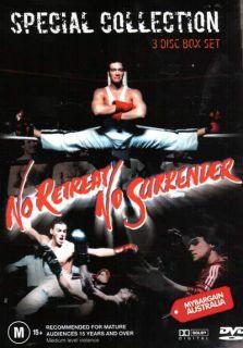 Retreat No Surrender Special Collection 3 DVD Box Set Van Damme