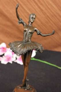 edgar degas tribute bronze sculpture ballerina