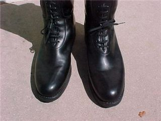 Barely Worn Mint Condition Dehner BAL Patrol Police Motorcycle Boots