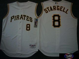 Pirates Dave Parker Authentic Game Jersey White