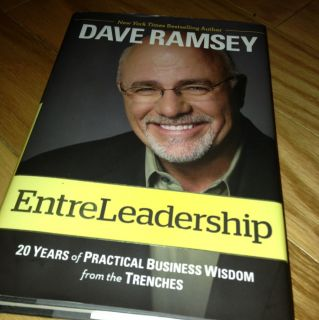 Entreleadership by Dave Ramsey Brand New Hardback Book