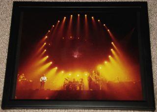 Pink Floyd David Gilmour Framed 80s Concert Portrait