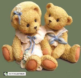 CHERISHED TEDDIES HEIDI AND DAVID SPECIAL FRIENDS