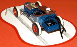 Danbury Mint 1925 Ford Model T Salt Flats Race Car 1 24