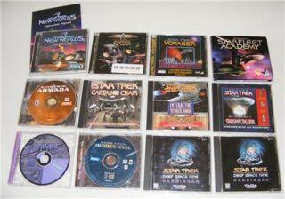 Star Trek PC 11 Game Lot Armada Empires at War More