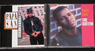 San Rough Cut The Sistem 2 Dancehall Reggae CDs Very RARE