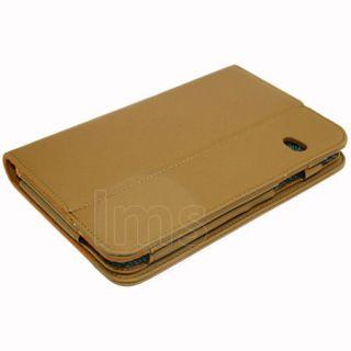 Coffee Executive Genuine Leather Case for Dell Streak 7