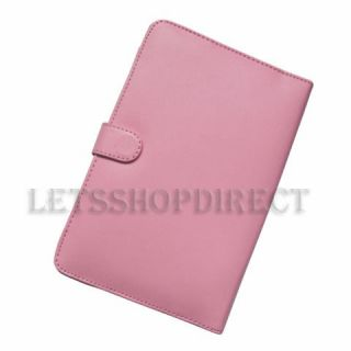 Dell Streak 7 Pink Synthetic Leather Case Cover Jacket