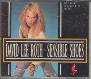 David Lee Roth Sensible Shoes CD 3 trk W0016CD German Warner Bros 1991