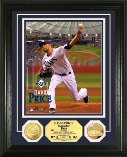 David Price Tampa Bay Rays Gold Coin Photomint x 1000 Highland Mint