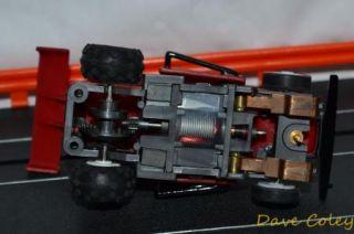 Tomy Turbo Hopper No 27 Deep Red HO Slot Car Micro Scalextric