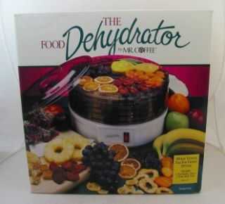 mr coffee model fd5 food dehydrator