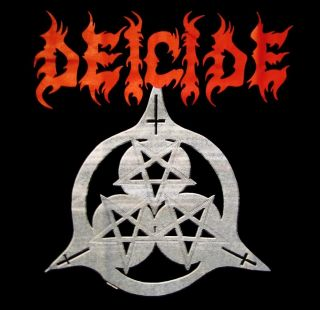 Deicide CD lgo Once Upon The Cross Official Shirt XL New