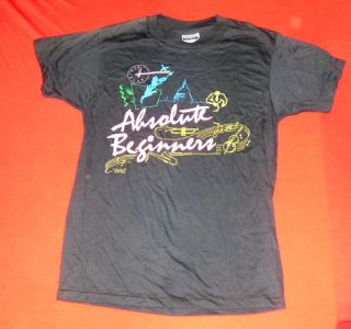 David Bowie Absolute Beginners Movie Promo T Shirt M