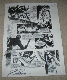 THE TERRITORY Original Art Page by David Lloyd (V FOR VENDETTA ARTIST)