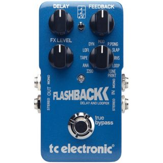 Electronic TC Flashback Delay Toneprint Guitar Pedal Brand New