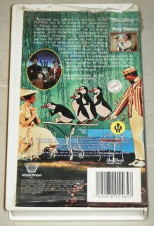 Mary Poppins VHS Movie Walt Disney 1964 Julie Andrews Spanish Edition