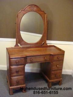 ... Davis Cabinet Solid Black Walnut 46 Vanity W Mirror ...