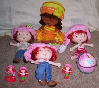 Strawberry Shortcake Orange Blossom Cheerleader Plus 6 More Dolls Ball