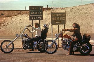 Dennis Hopper Easy Rider RARE Color 2 Harley Cult Fonda