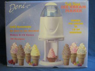 Soft Serve Ice Cream Maker by Deni