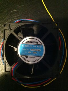Innovative DC Brushless Fan Motor 12V 0 12A