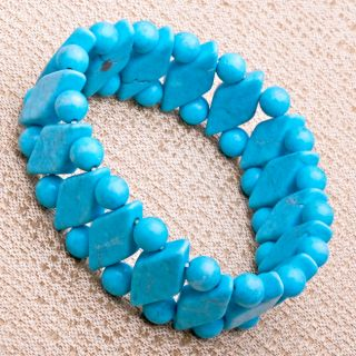 Created Sleeping Beauty Turquoise Bracelet