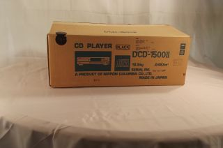 Denon CD Player DCD 1500II New in Box Old Stock