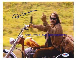 Dennis Hopper Easy Rider Bird Finger Print Approx 17x14