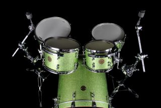 New Ddrum Dios 22 Maple Olive Sparkle 5 Piece Drum Kit
