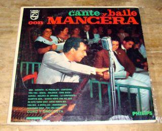 Nicolas Pipo Mancera Cante Y Baile Argentina Tango LP