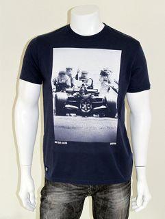 Chunk Star Wars F1 Vader Dark Side Racing Print T Shirt Navy s XXL