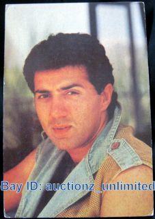 Bollywood Actor Sunny Deol India Star RARE Old Post Card Postcard