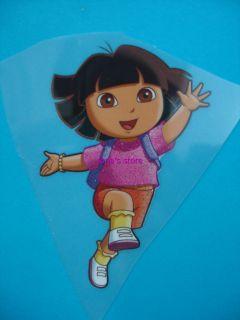 Dora The Explorer Iron on Patch Heat T Shirt Transfer Applique Motif