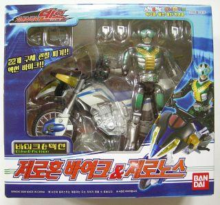 Bandai Masked Kamen Rider Den O Deno Zeronos Action Figure Bike