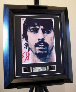 Dave Grohl Foo Fighters Nirvana Signed Memorabilia WOW