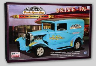 Daves Speed Shop Hot Rod Large 1 16 Minicraft 11233