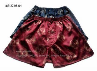 Mens Design Silk Boxer Shorts W28 35● SU216 Free P P