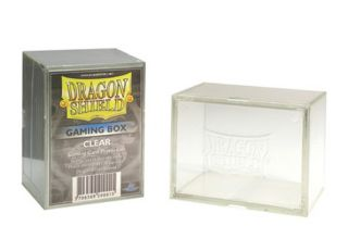 Dragon Shield Clear Thick Acrylic Gaming Card Deck Box